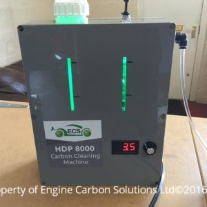Secondhand carbon cleaning machine