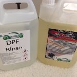 DPF cleaning fluid